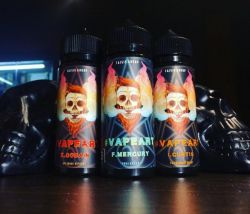 VAPEART F. Mercury 3mg 120ml