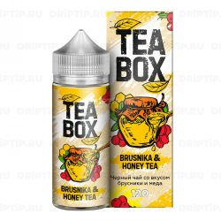 Tea Box - Brusnika & Honey Tea