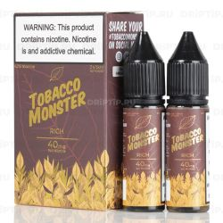 Tobacco Monster Salt - Rich