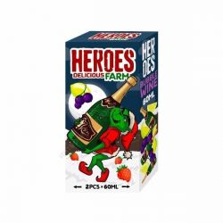 HEROES DeliciousFarm Pack 60ml+60ml