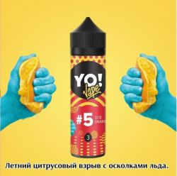 YO VAPE 100ml №5 Ice Orange 3mg