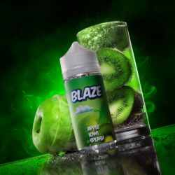 BLAZE ON ICE Apple Kiwi Splash 3mg 100ml