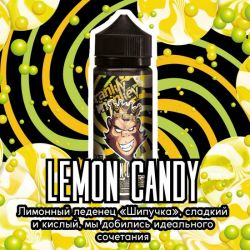 Frankly Monkey Black Edition - Lemon Candy 3mg 120ml