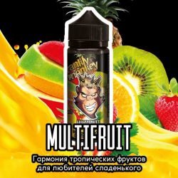 Frankly Monkey Black Edition - Multifruit 3mg 120ml