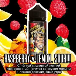 Frankly Monkey Black Edition - Raspberry & Lemon Sour 3mg 120ml
