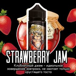 Frankly Monkey Black Edition - Strawberrie Jam 3mg 120ml