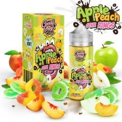CANDY SHOP Apple Peach Sour Rings 3mg, 100ml