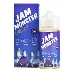 Jam Monster BLUEBERRY 3mg, 100ml