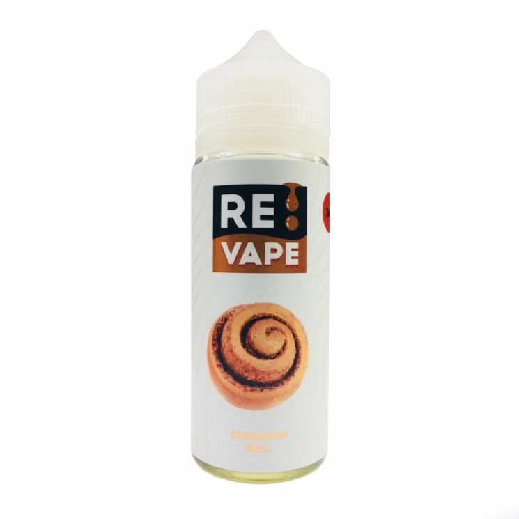 Жидкость RE VAPE Cinnamon Roll 3mg 120ml
