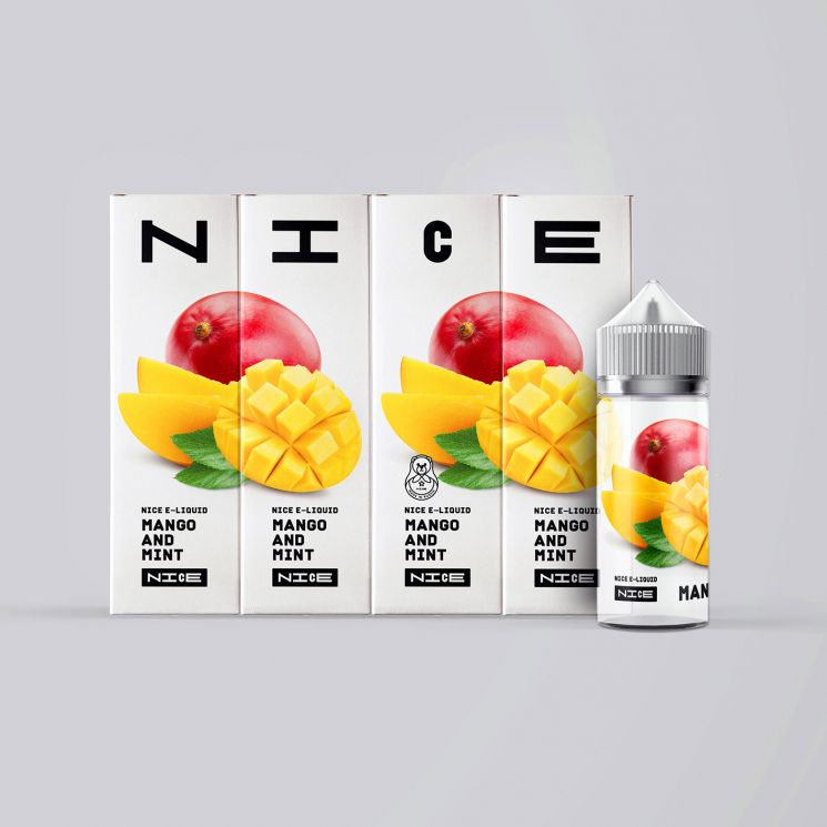 Жидкость NICE Mango and Mint 0mg 95ml + никобустер