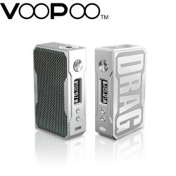 Мод VOOPOO DRAG 157W TC Silver Carbon Edition