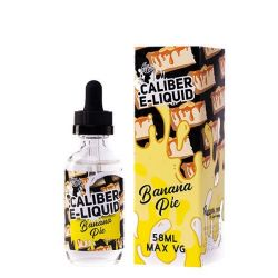 CALIBER Banana Pie 0mg, 58ml