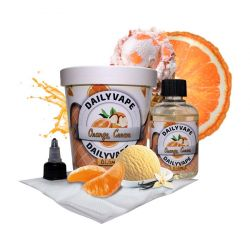 DAILY VAPE Orange Cream 3mg, 120 ml