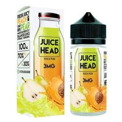 JUICE HEAD Peach Pear 3mg 100ml