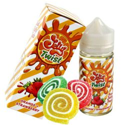 JELLY TWIST Orange+Strawberry 3mg 100ml